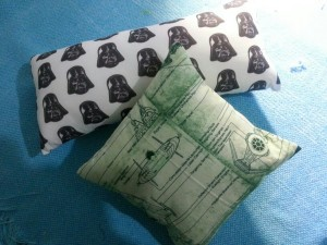 Almofada Darth Vader e Naves Star Wars
