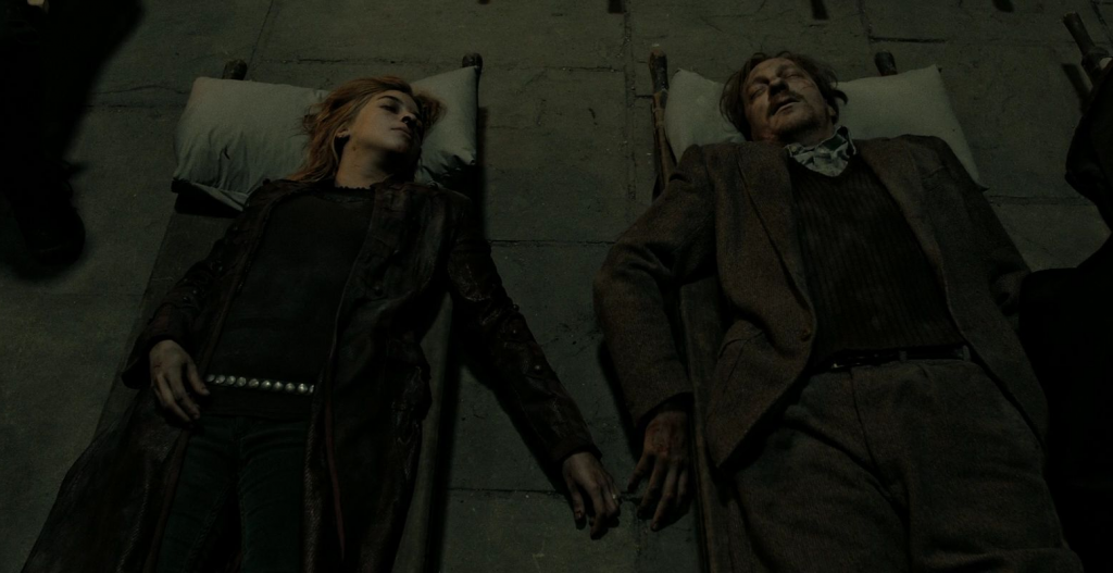 Tonks and Remo Dead
