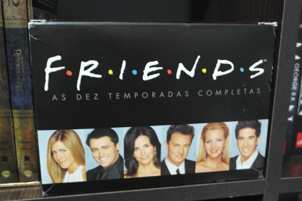 Meu box de DVD