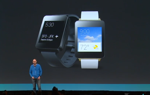 Primeiro Android Wear, o LG G Watch