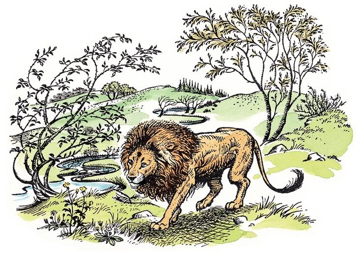 Aslan e a criação de Narnia